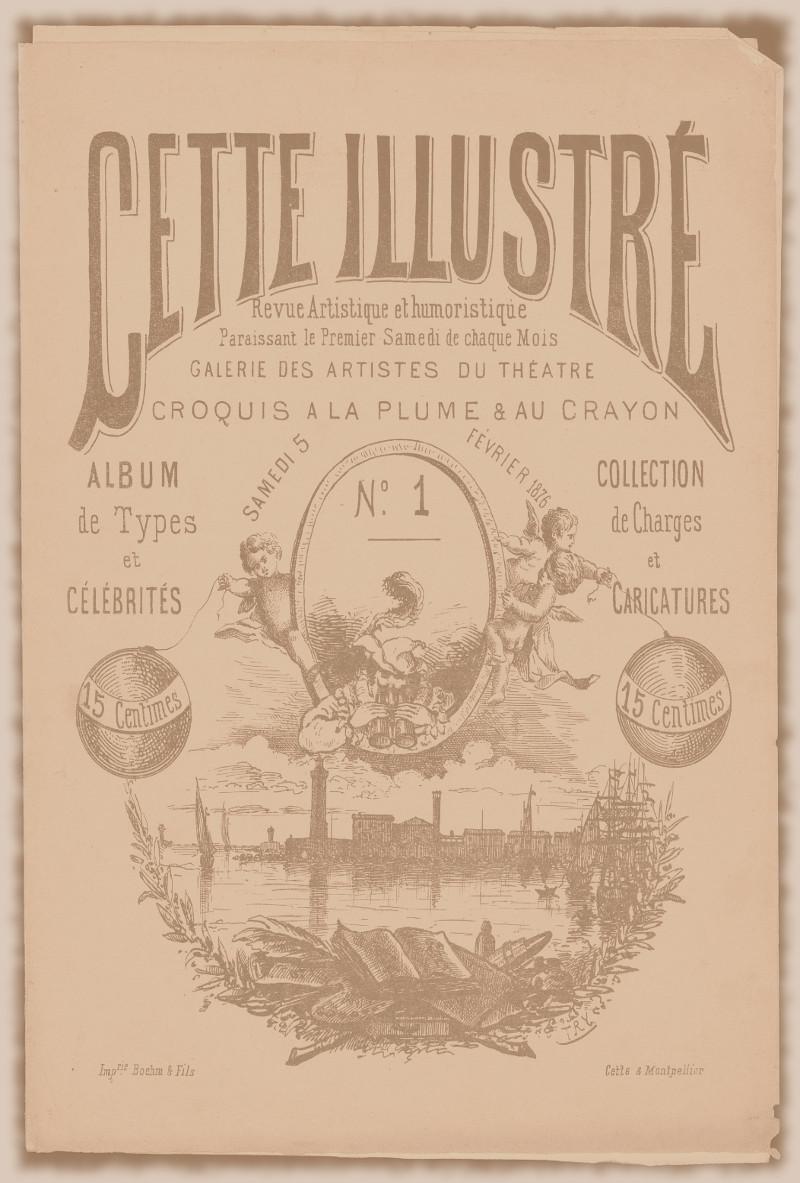 CETTE ILLUSTRé, période de 1876 à 1877